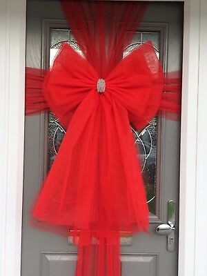 Deluxe Christmas Door Bows