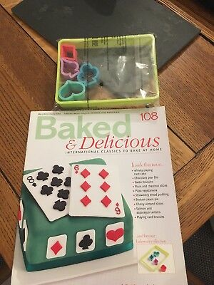 Baked & Delicious - bakeware cutters & magazine