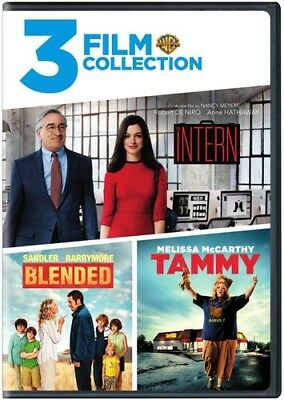 3ff: Intern / Tammy / Blended (2017, DVD NUEVO)2 DISC SET (REGION 1)