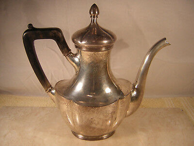 Shreve & Co. Sterling Tea Pot, San Francisco Makers, 1 3/4 Pints, 15.5 oz.Silver