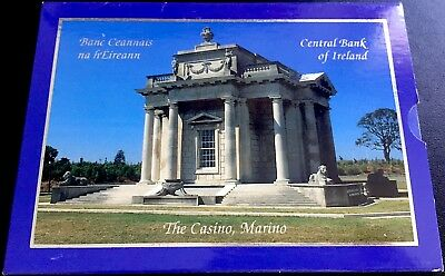 IRLANDA Cartera con 8 valores EURO 2003 Central Bank of Ireland (FDC)
