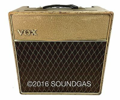 1961 VOX AC-15 Fully-Serviced Vintage Valve/Tube Guitar Amp