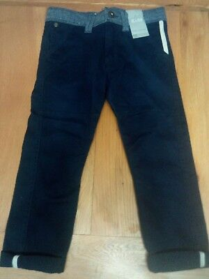 Smart navy trousers BNWT age 4