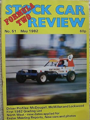 Stock Car Review Formula Two Magazine – Number 51 May 1982 Issue