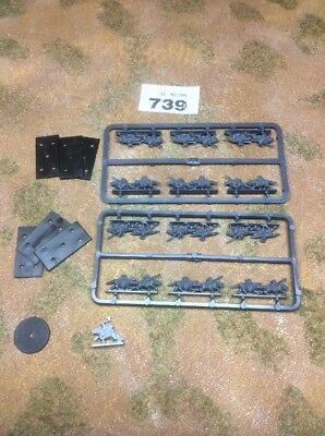 Battle of Five Armies / Warmaster 10mm - BoFA Warg Riders and Commander - 739