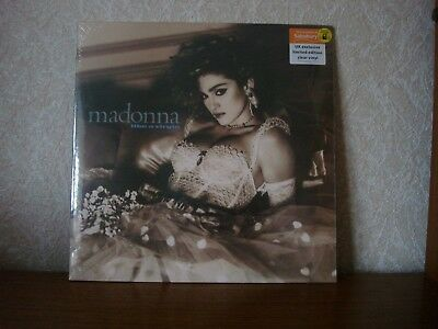 MADONNA~Like A Virgin Sainsburys UK Exclusive Limited to 1000 copies Clear Vinyl