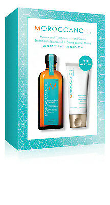 Moroccanoil original or light with pump 125ml Oil | free Hand Cream