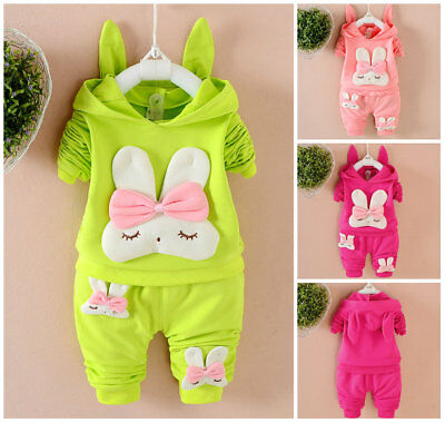 2pcs toddler Baby clothes girls autumn clothes top+pants outfits tracksuit
