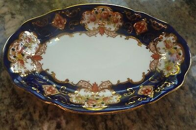 Royal Albert Heirloom English Bone China Small Oval Tray