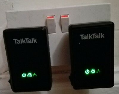 D-link  powerline internet connection through the mains talk talk