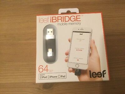 Leef IBridge mobile memory 64GB.
