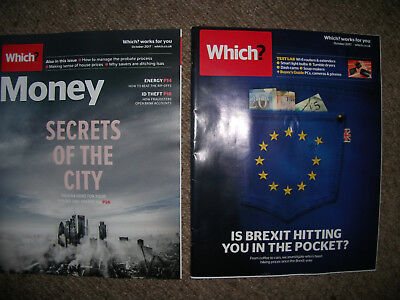 WHICH?+ WHICH MONEY MAGAZINE OCTOBER 2017-stocks&shares ISA/id theft/house price