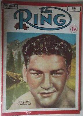1951 The Ring - Boxing Magazine. May 1951  Usa / British Publication
