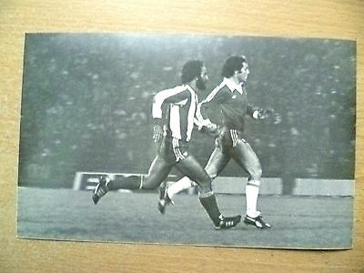 Press Photo- Moscoso & Paraguay's Aufich, Action to Goal