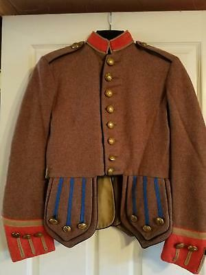 Scottish Pipers Doublet Costume / Reenactment Size 40