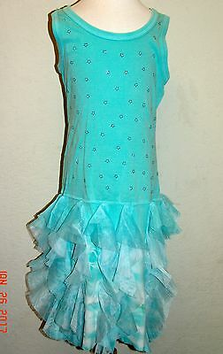 MIGNONE Boutique Girls Ruffle Tiered Dress Size 8