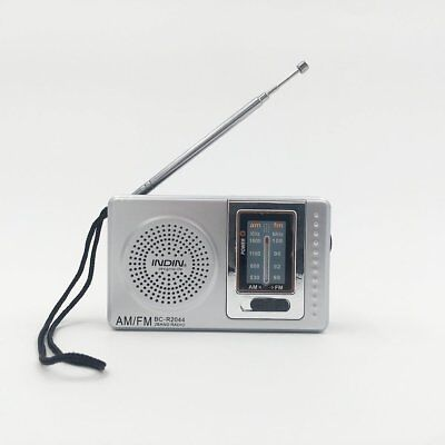 Portable Am/Fm Radio For Home Power Outage Travel Fishing Battery Powered New