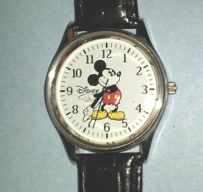 Vintage Disney Time Works Mickey Mouse Hands Wrist Watch