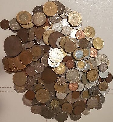 Mixed lot 45 foreign coins