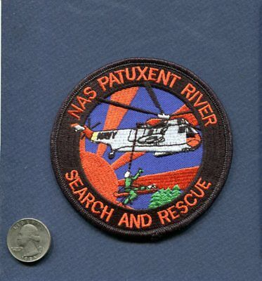 Search Rescue NAS NAVAL AIR STATION PATUXANT RIVER US Navy Base Squadron Patch