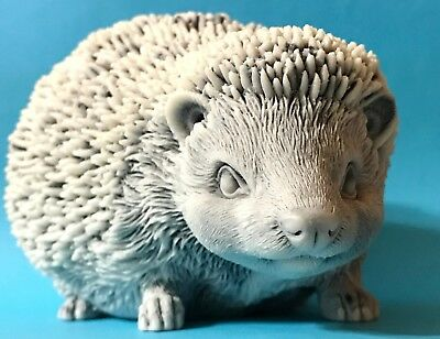 Hedgehog figurine high quality marble chips realistic Souvenirs from Russia