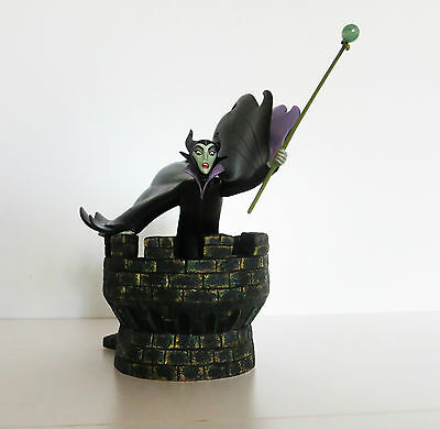 WDCC Sleeping Beauty's Maleficent on Castle - Dealer's Display
