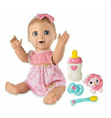 Luvabella Baby Talking Doll Blonde Hair Toys & Games