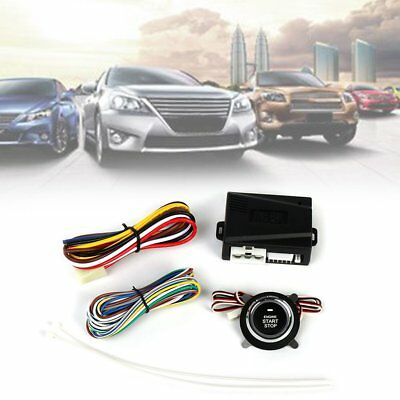 NEW NQ-9001 Universal Car Alarm Engine Start Stop Button Keyless Entry System+