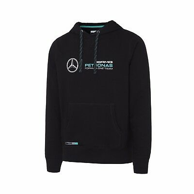 NEW Official Mercedes Petronas Mens Hooded Sweat