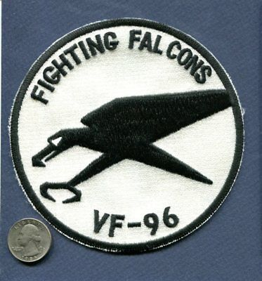 Original VF-96 FIGHTING FALCONS US NAVY Squadron Ace Novelty REX Tiger Patch