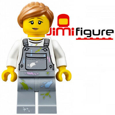 NEW LEGO Minifigure Fence Painter 60134 Fun in the Park Genuine Woman Lady
