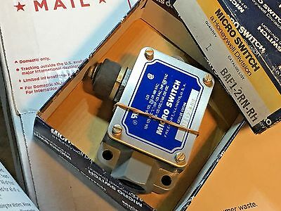 Micro Switch BAF-2RN-RH Right Hand Limit Switch NOS