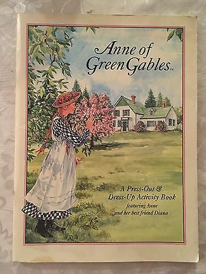 1994 Anne of Green Gables - A Press Out and Dress Up Activity Paper Doll Book