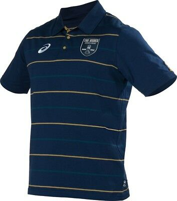 NEW Official 2017/18 Ashes Cricket Series Mens Navy Polo