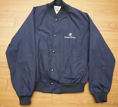 Vintage Smith & Wesson Navy Sport Bomber Jacket - XL or Large - Rare!