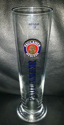 Rare Collectable Paulaner Munchen 300Ml Beer Glass Great Used Condition