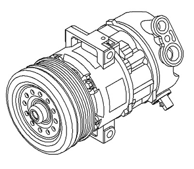 Vauxhall Compressor - Genuine New - 95516235