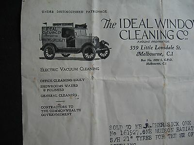 Ideal Window Cleaning 359 Little Lonsdale St Melbourne  ,A Young , HUDSON ENGINE