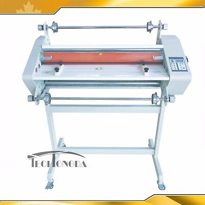 Heavy Duty 25In Thermal Laminator Doubel Side Hot/Cold Laminating wooden package