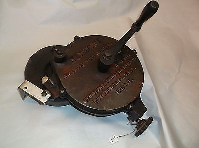 Railroad Tool Grinder, Vintage Keystone Grinder Mfg. Co., Pittsburg, Pa., USA