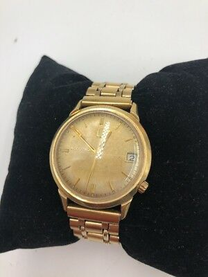 Vintage Bulova Accutron Wrist Watch 14k Gold
