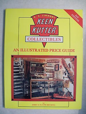 KEEN KUTTER PRICE GUIDE COLLECTOR'S BOOK Straight Razors Knives Axes Planes MORE