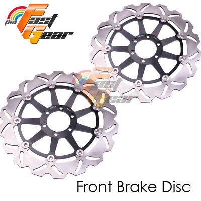 Racing Front Brake Disc Rotor x2 For BIMOTA SB8K GOBERT 1000 2006
