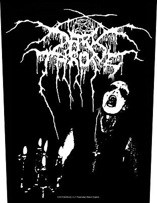 DARKTHRONE transylvanian hunger Back Patch XLG free worldwide shipping