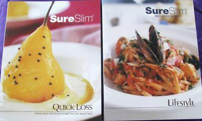 SURESLIM WELLNESS CLINIC volumes 1 & 2 - QUICK PERMANENT WEIGHT LOSS sure slim