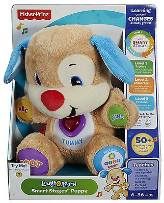 Fisher Price Love To Play Puppy Laugh And Learn Singing Teddy