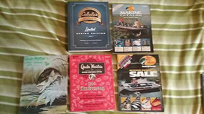 Cabela's, Bass Pro Shops and Gander Mountain catalogs