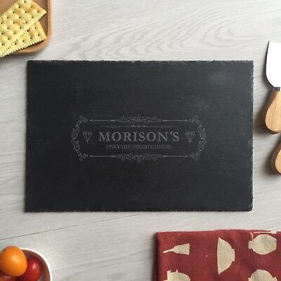 Morison's engraved personalized custom cheese boards Kitchen sign christmas gift