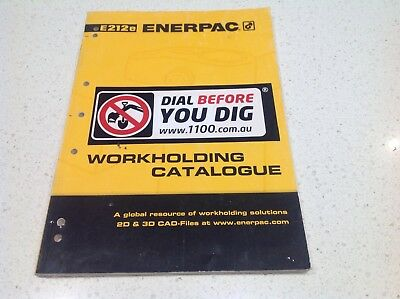 Enerpac Hydraulics Official Workholding  Book Jacks Pump Complete, Valves