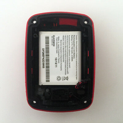 Garmin Edge 500 Back Case With Battery Touring Repair Replacement Part Red